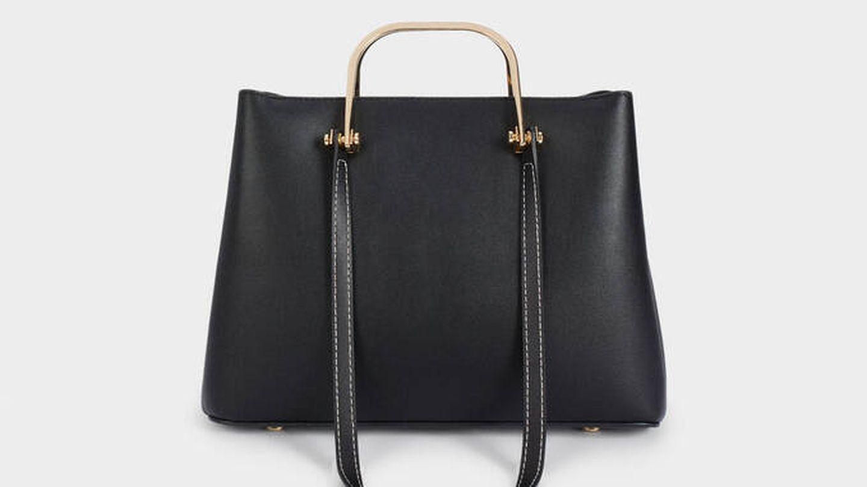 El nuevo bolso de Parfois en color negro. (Cortesía)