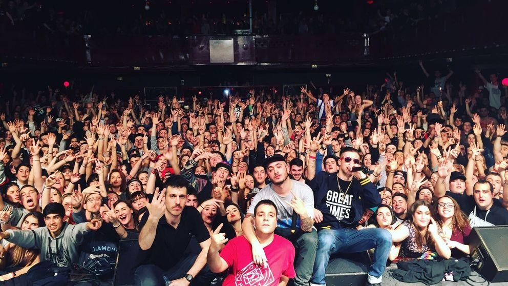Natos y Waor, los raperos madrileños que revientan las salas de Barcelona