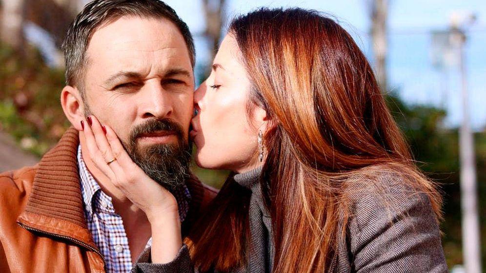 Foto:  Santiago Abascal y su mujer. (IG)