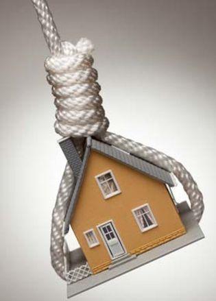 Foto: ¿Qué sucede si dejo de pagar mi hipoteca al banco?