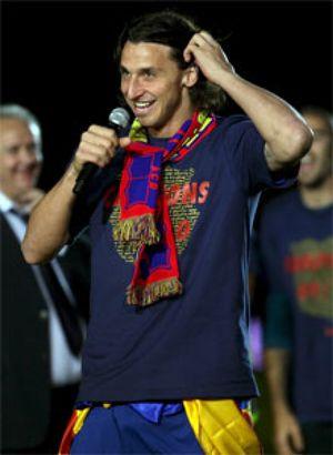 El Barça venderá a Ibrahimovic si su agente 'insiste'