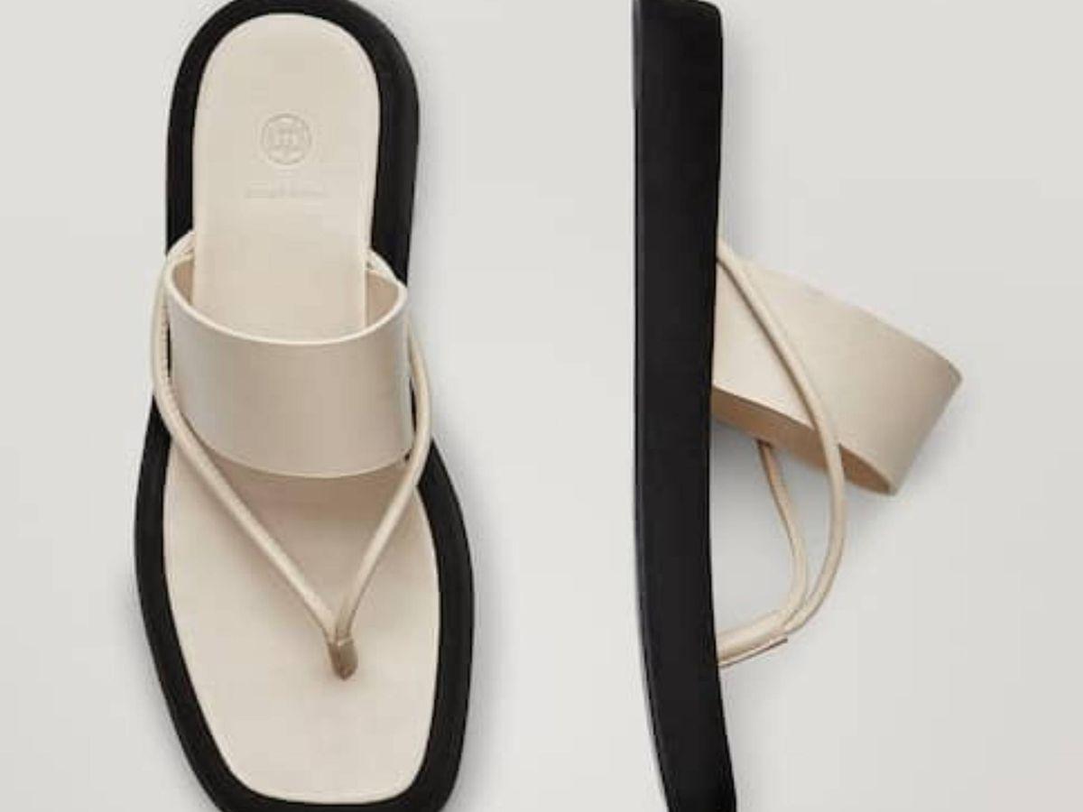 Foto: Las sandalias de Massimo Dutti. (Cortesía)