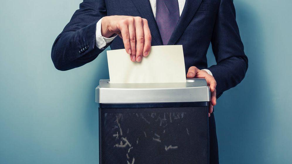 Foto: Esto es lo que hacen con tus papeles. (iStock)