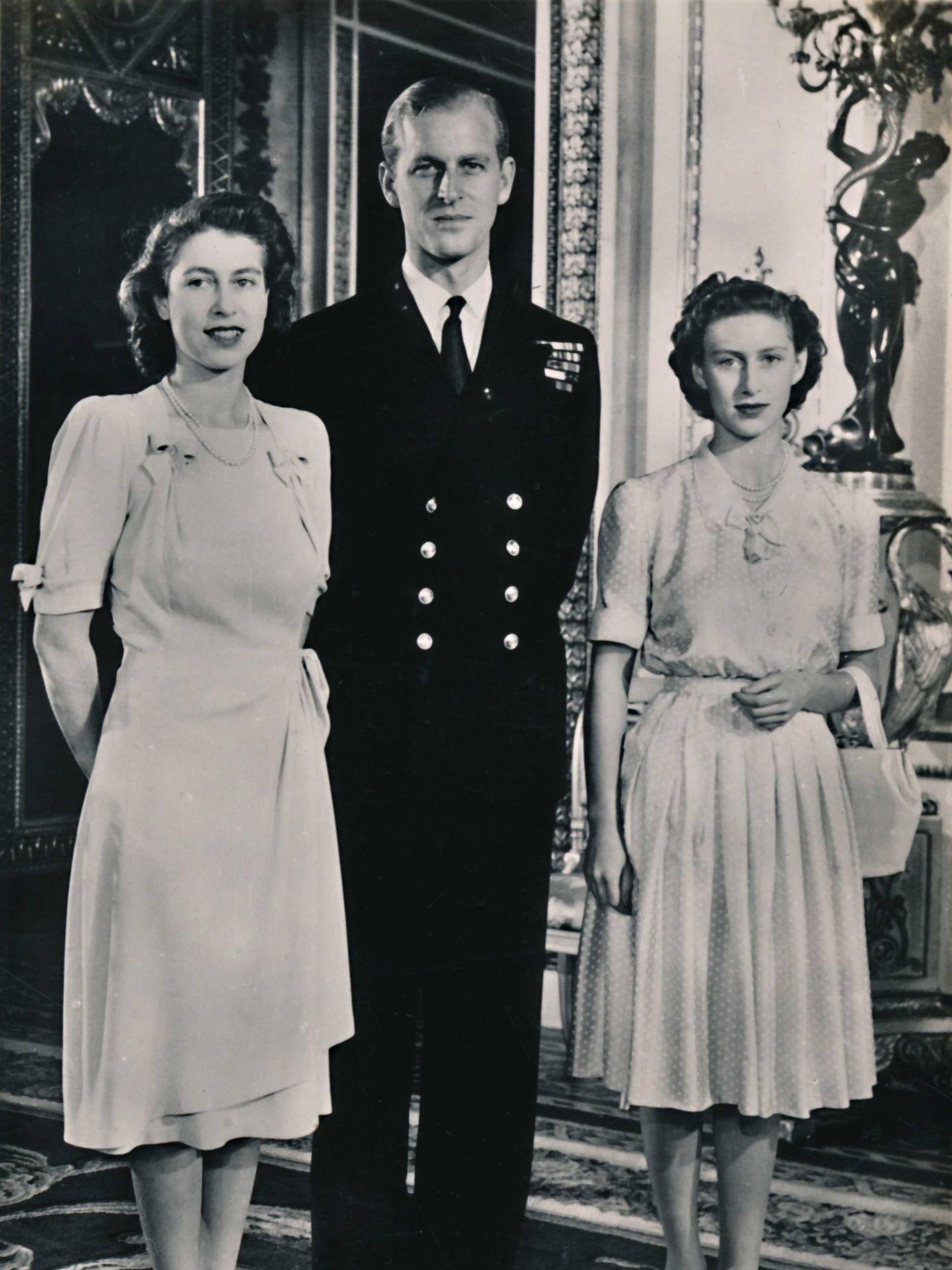 Isabel y Felipe, durante el anuncio de su compromiso. (Cordon Press)