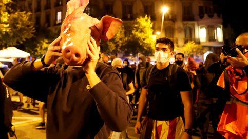 Seis detenidos en Barcelona tras una noche de protestas por la inhabilitación de Torra