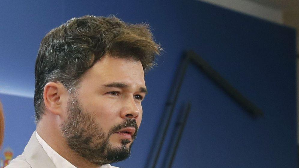 Foto: Gabriel Rufián. (EFE)