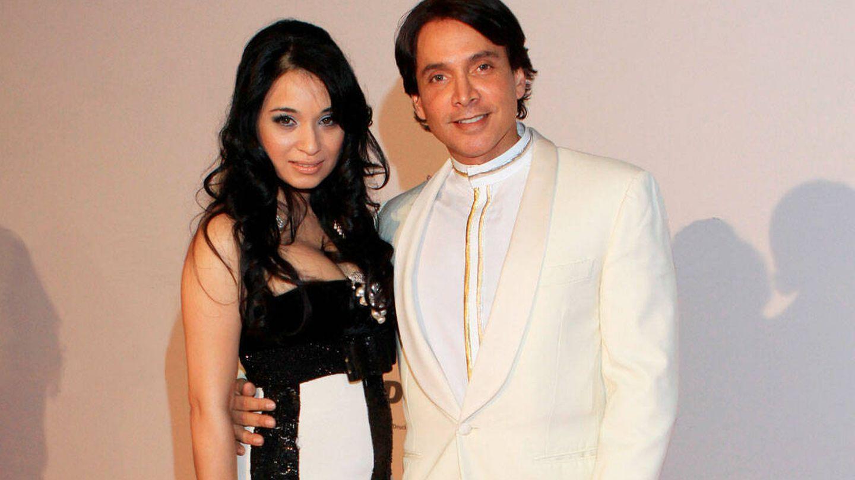 Con Sheetal Mafatlal, en una imagen de 2010. (Alamy)