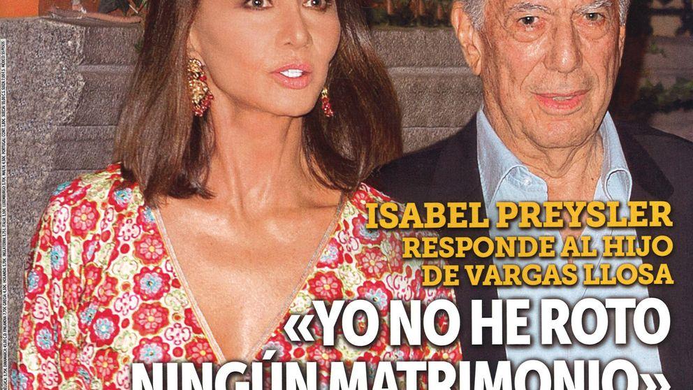 Las revistas de los miércoles: estalla la guerra entre Isabel Preysler y los hijos de Vargas Llosa
