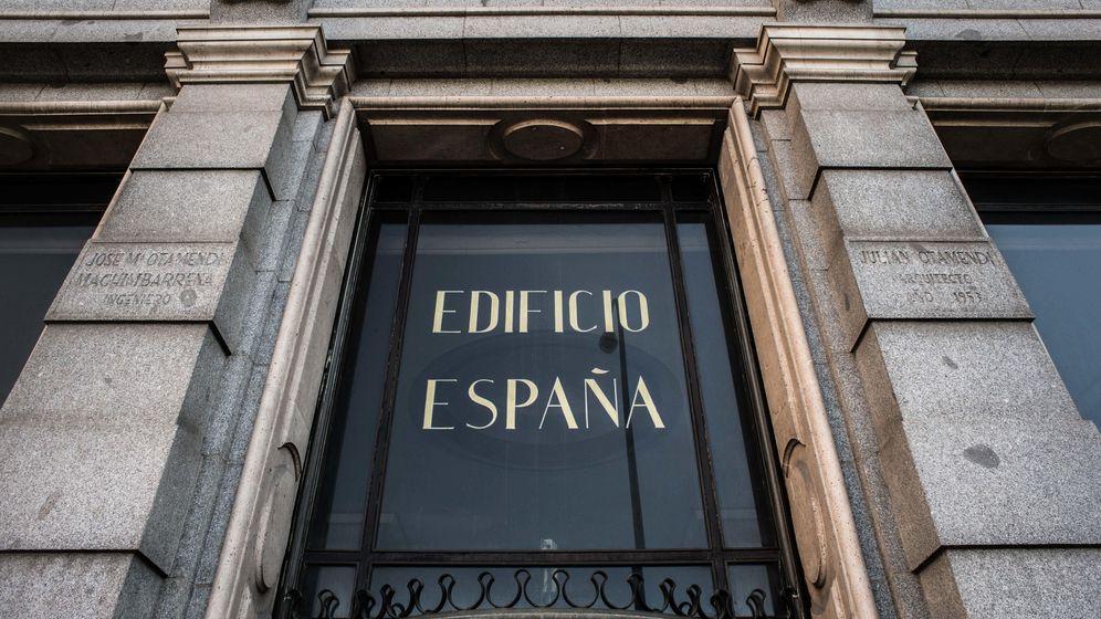 Foto: Wanda sólo tiene plan A para Edificio España: desmontar la fachada y volverla a levantar