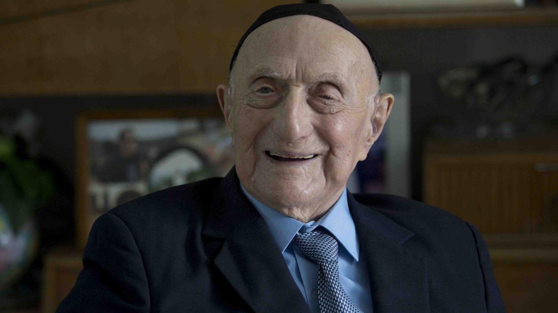 Foto: Un superviviente del holocausto podrÍa ser la persona más vieja del mundo. Foto: efe/abir sultan