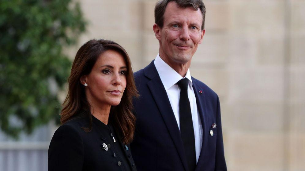 Foto: Joaquín y Marie de Dinamarca, el pasado septiembre en París. (EFE)