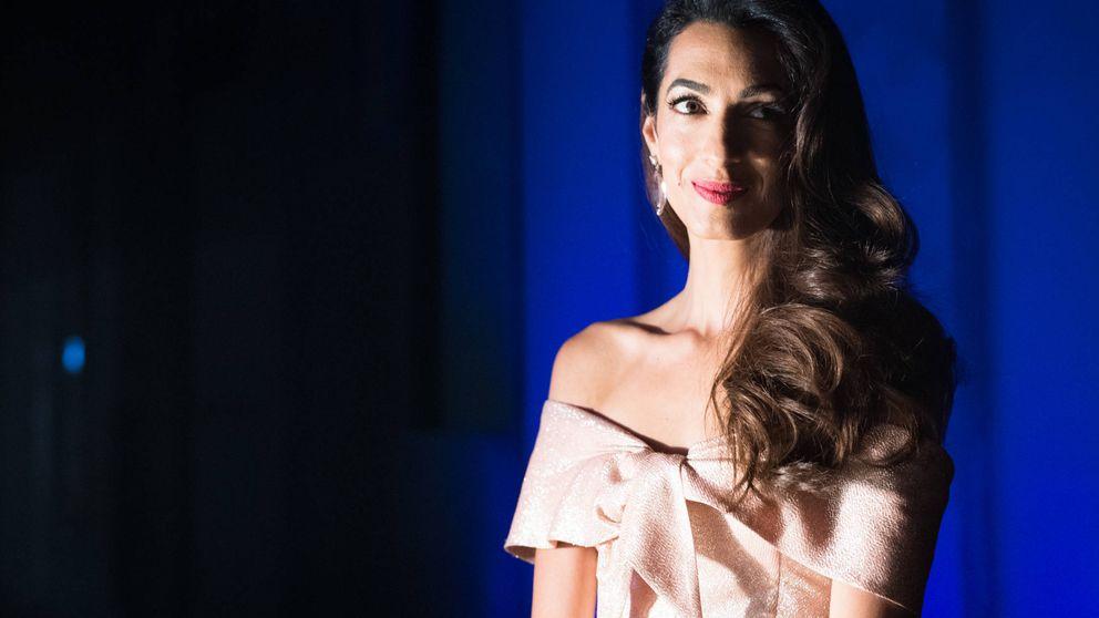 Amal Clooney cuenta su drama como refugiada
