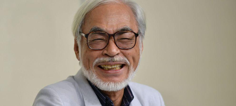 Foto: El director de cine Hayao Miyakazi en Tokio el año pasado (EFE)