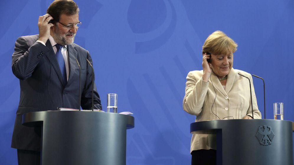 Foto: Merkel advierte a Mas que la UE no permitirá una Cataluña independiente