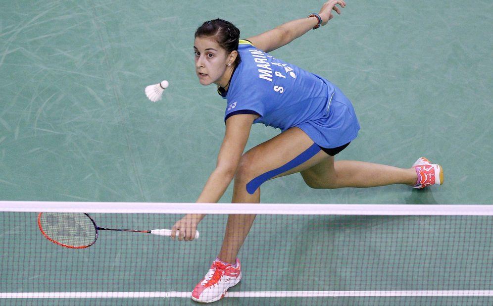 Foto: Carolina Marín se mete en segunda ronda del Abierto de China (Efe).