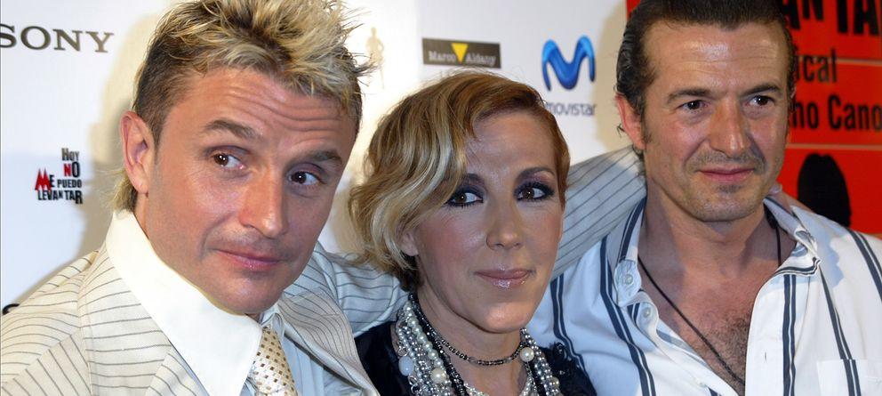 Foto: El grupo Mecano: Nacho Cano, Ana Torroja y José María Cano, en una imagen de archivo (Gtres)