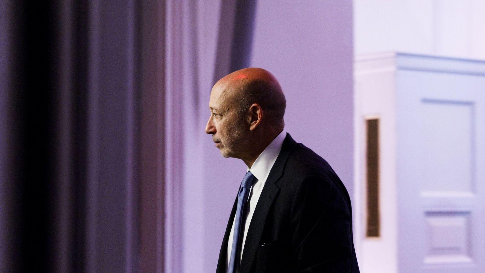 Foto: El hasta ahora presidente y CEO de Goldman Sachs, Lloyd Blankfein. (Reuters)