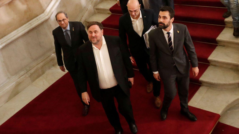 El Constitucional avala la suspensión de Junqueras en 2018: no fue arbitraria
