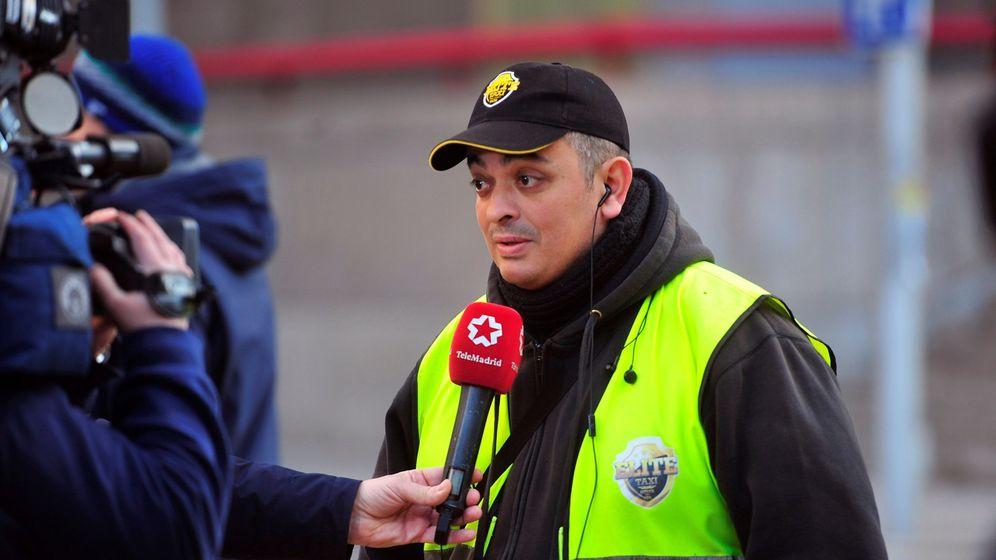 Foto: El líder de Élite Taxi en Barcelona, Tito Álvarez. (EFE)