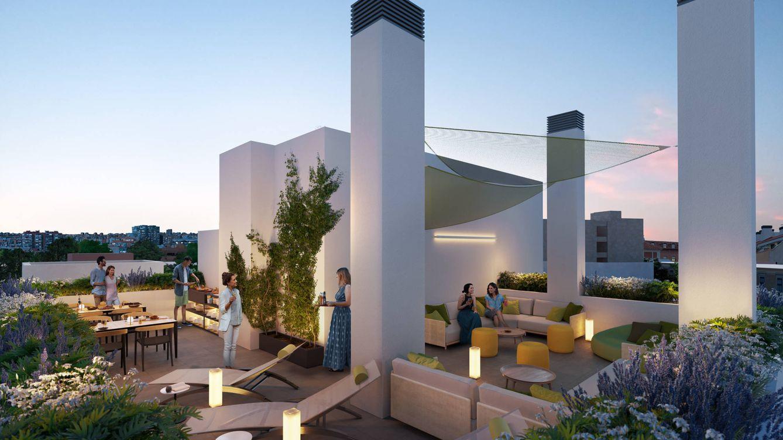 Optimus prueba suerte en la promoción de pisos con piscina para parejas sin hijos