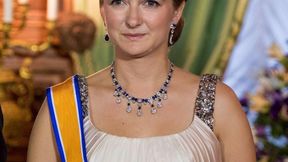 Estefanía de Luxemburgo es la princesa más sosa de Europa (y sus últimos looks lo avalan)