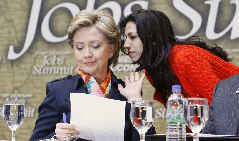 Foto: Huma Abedin con Hillary Clinton (Gtres)