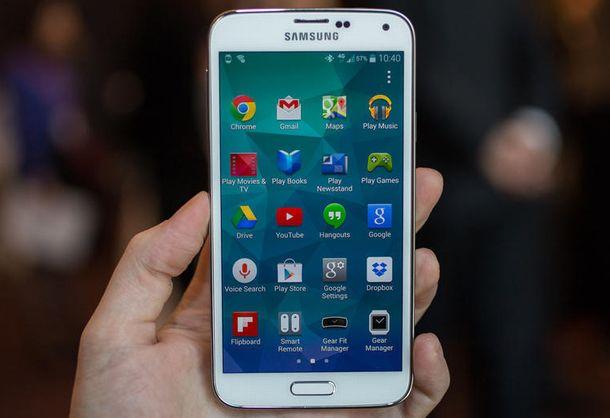 Foto: Samsung prepara un 'smartphone' metálico para batir al iPhone