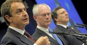 """""""No hay crisis"""": Europa da aliento a Zapatero en su momento más crítico"""
