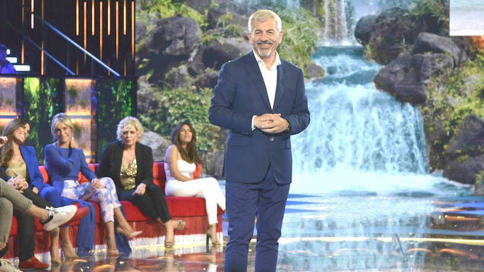 Carlos Sobera se ríe de 'MasterChef' tras promocionarse su final en 'SV 2019'