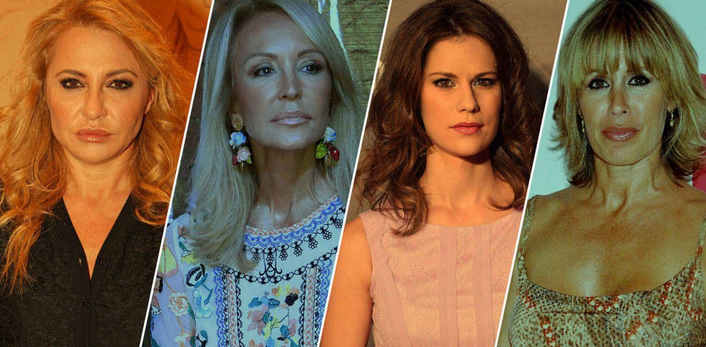 Foto: Algunas de las famosas que se solidarizaron con Nadia (Fotomontaje: Vanitatis)