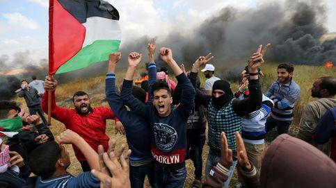 16 palestinos muertos y unos 2.000 heridos en los incidentes en Gaza