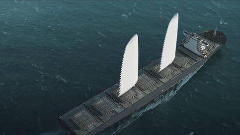 Estas velas gigantes para buques ahorran 20% de combustible