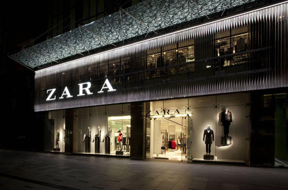 Foto: Imagen de una tienda de Zara.