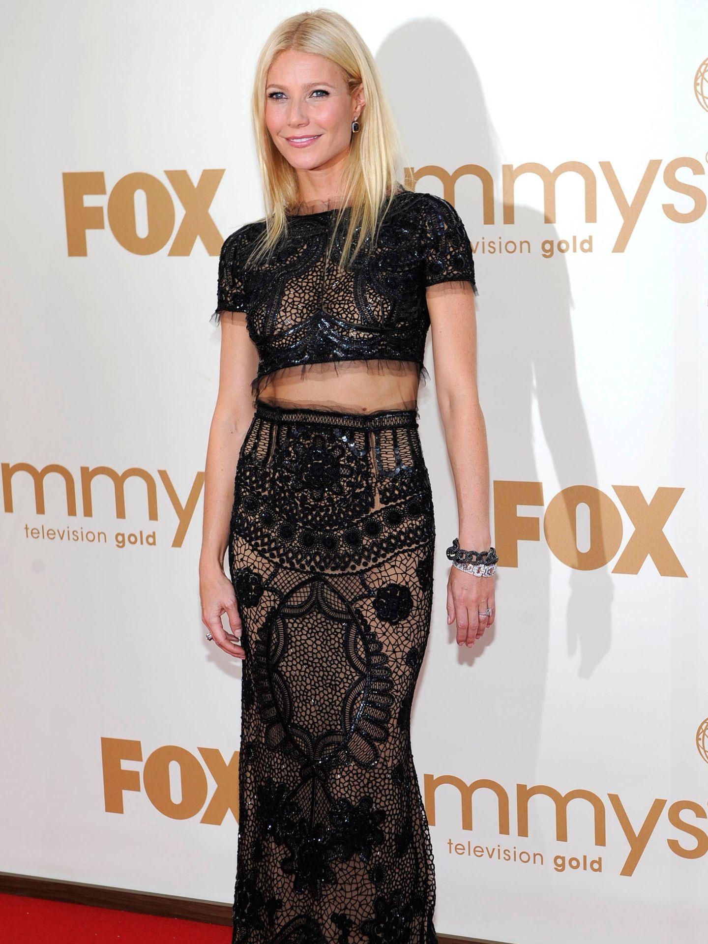 Gwyneth Paltrow en los Premios Emmy 2011.(Reuters)