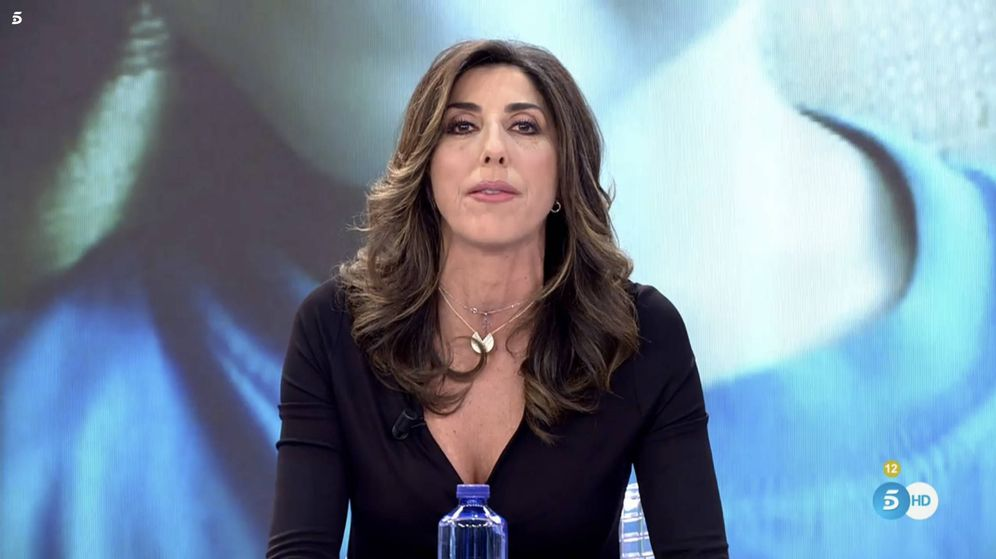 Foto: Paz Padilla, en la apertura de 'Sálvame: limón'.