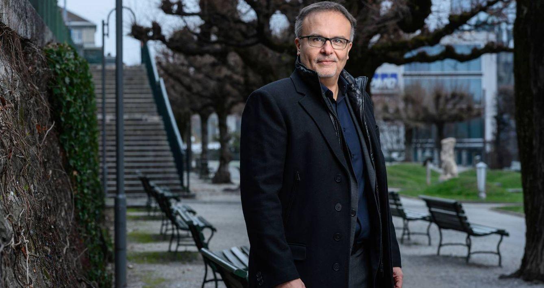 Foto: Dan Staner, vicepresidente mundial de Moderna y jefe de la compañía en Europa. (Foto: cedida/François Wavre)