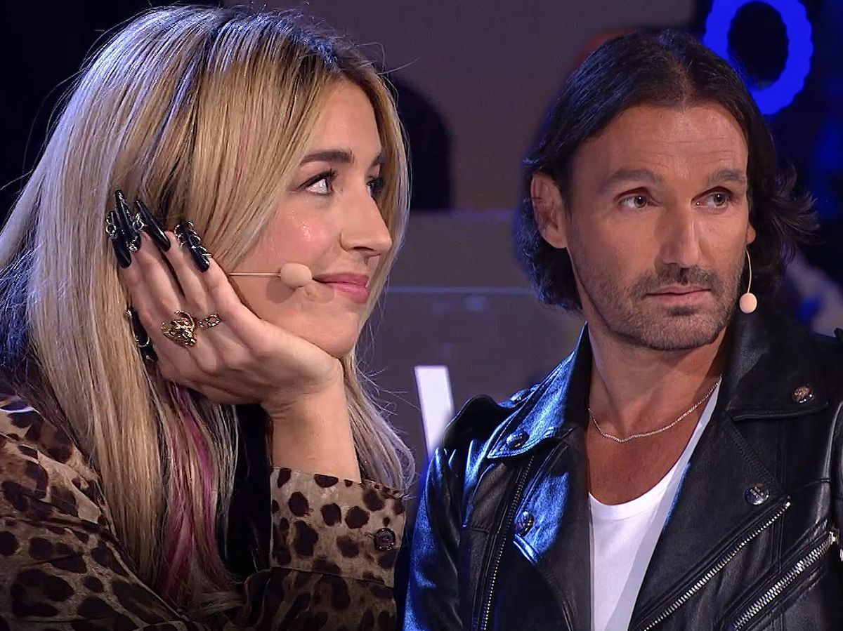 Foto: Lola Indigo y Rafa Méndez, en 'The dancer'. (TVE)