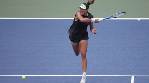 Garbiñe Muguruza no levanta cabeza: eliminada en primera ronda en el US Open