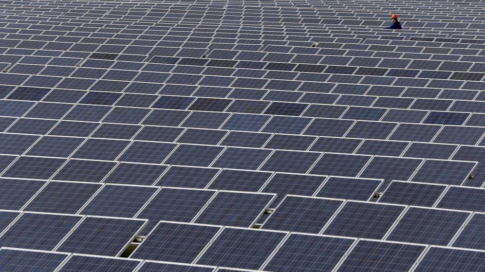 Foto: Imagen de archivo de una planta fotovoltaica. (EFE)