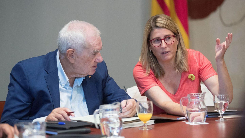 La 'consellera' de la Presidencia y portavoz del Govern, Elsa Artadi. (EFE)