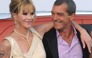 Antonio y Melanie, de nuevo juntos... en el cine