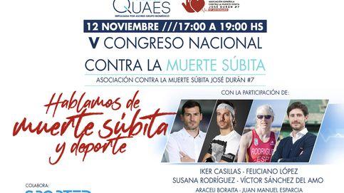 Iker Casillas comparte su experiencia en el V Congreso Nacional contra la Muerte Súbita