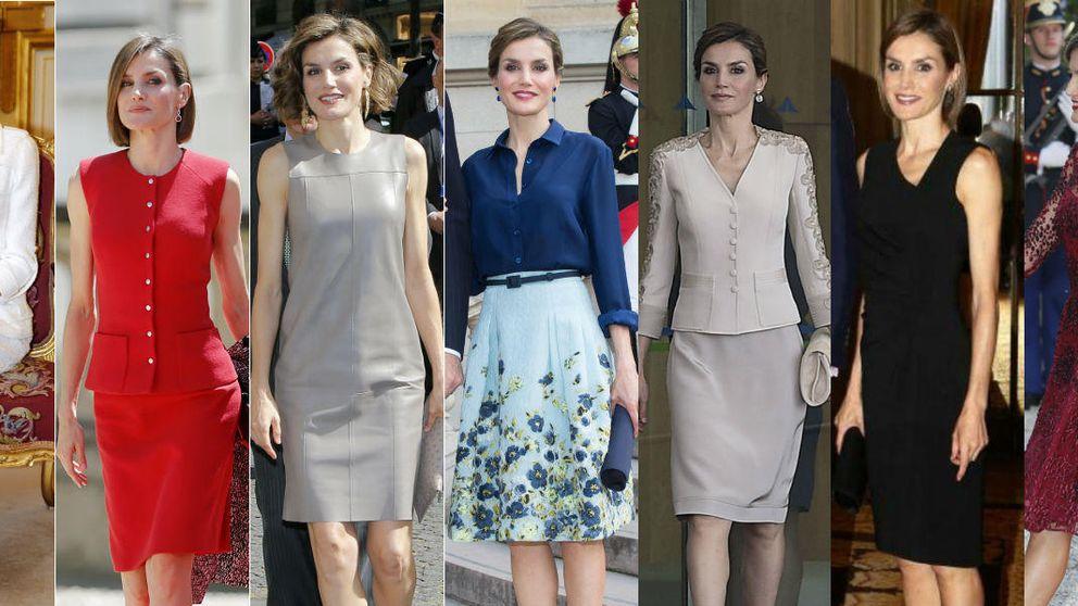 París y el 'collage' estilístico de la Reina Letizia