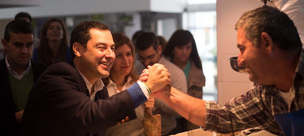 Foto: El candidato del PP a la Junta de Andalucía, Juan Manuel Moreno. (EC)