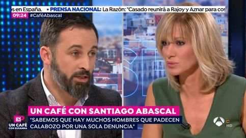 Tensión entre Griso y Santiago Abascal (Vox) al hablar de violencia de género