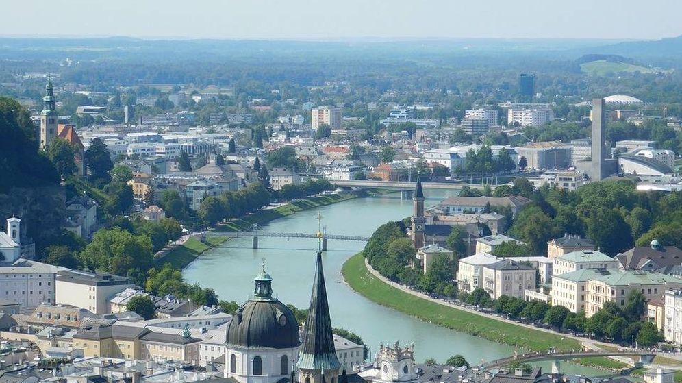 Foto: Vista de Salzburgo, Austria, país número 13 en el listado. (Pixabay)