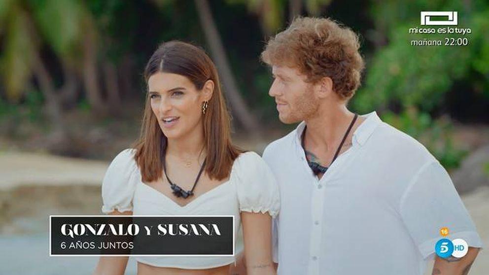 La falta de respeto de Gonzalo a Susana en el inicio de 'La isla de las tentaciones'