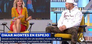 Post de Así 'camela' (y deja sin palabras) Omar Montes a Susanna Griso en 'Espejo'