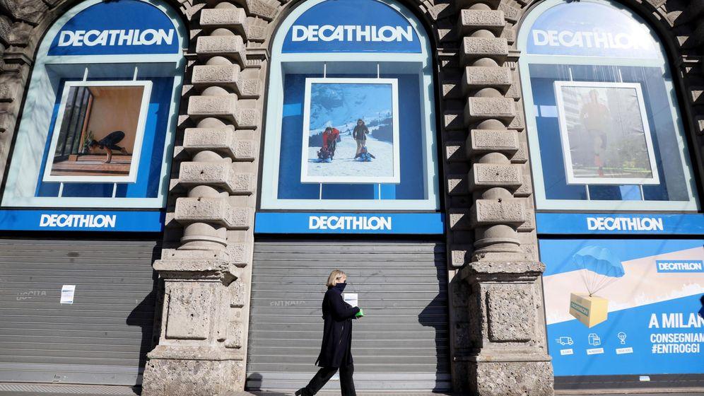 Foto: Tiendas de Decathlon en Italia (Reuters)