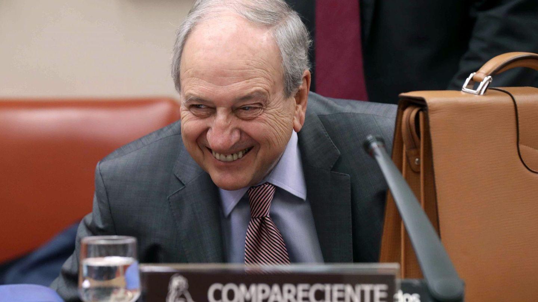 Javier Aríztegui, a su llegada a la comisión que investiga el origen de la crisis.(EFE)